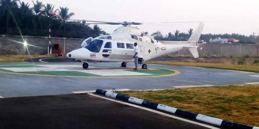 Air Ambulance Raipur to Hyderabad