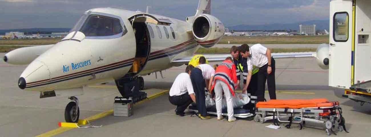 Air Ambulance Charges From Srinagar to Delhi
