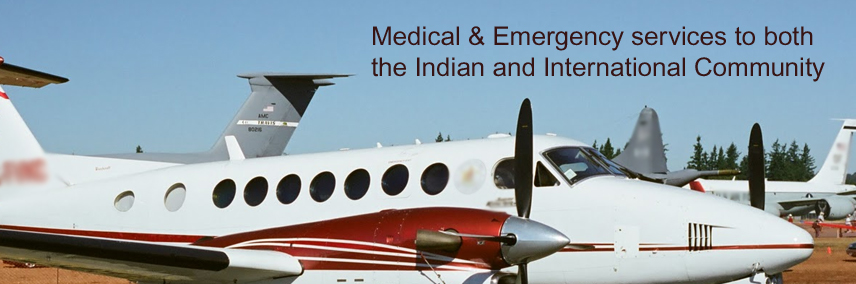 Air ambulance online booking