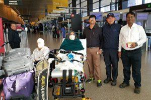 Air Ambulance Cost From Mumbai to Delhi