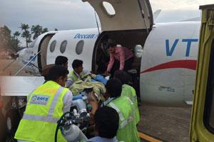 Air Ambulance Service in Srinagar