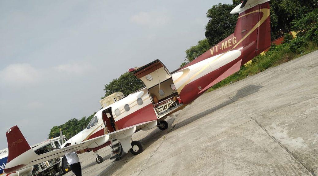 Air Ambulance Services in Raipur