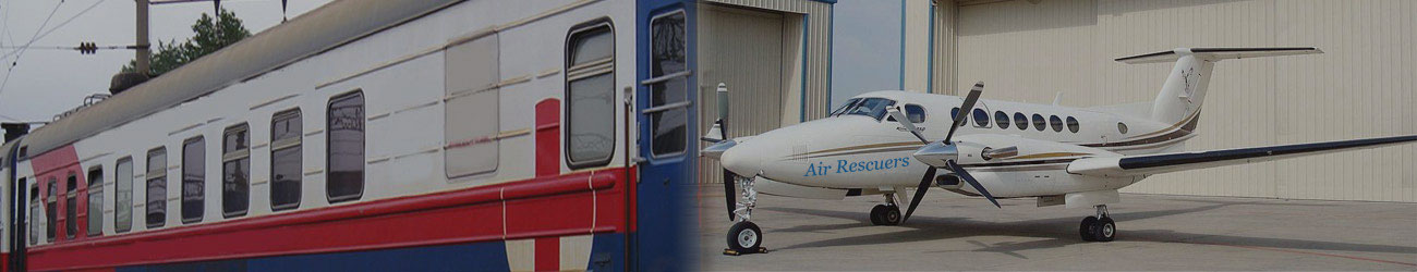 Air Ambulance Service in Lucknow to Delhi