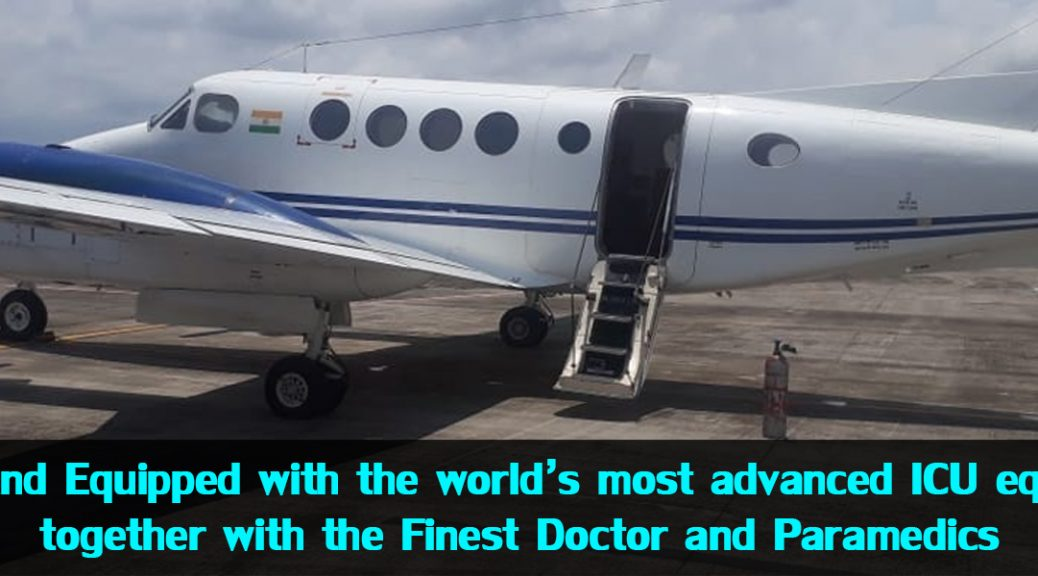 Air ambulance services from delhi