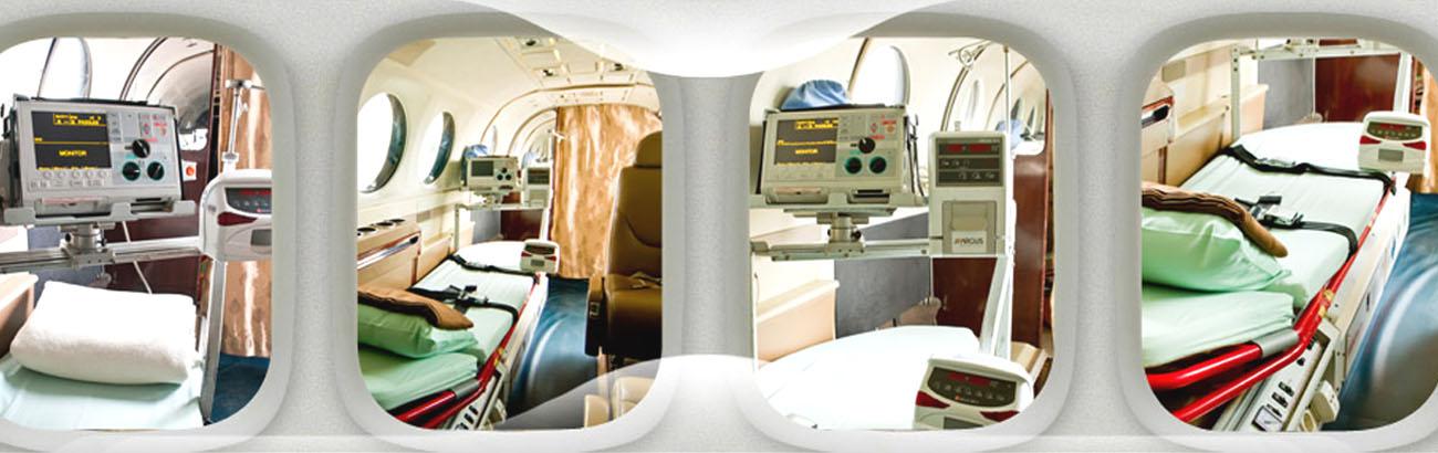 Air Ambulance Cost from Kolkata to Raipur