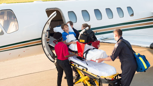 Air Ambulance Cost from Kolkata to Dubai